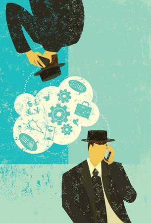 B2B Communications Illustration