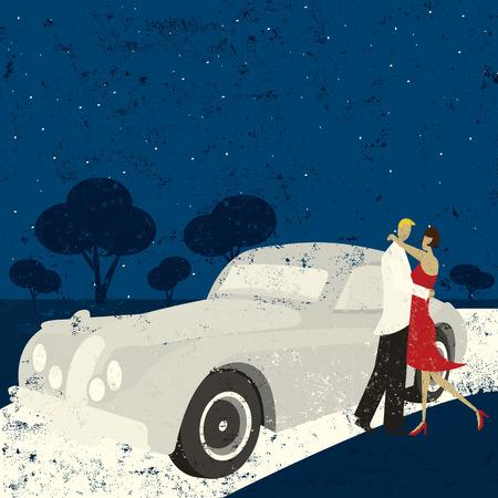 romance: Kiss goodnight Illustration