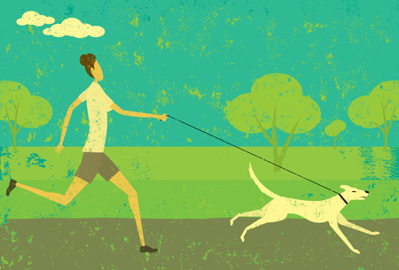exercising: Running with your dog
