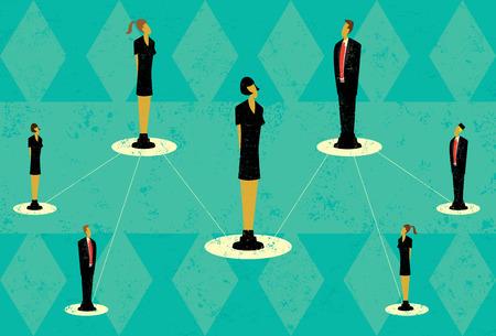 hierarchy: Business Team Hierarchy