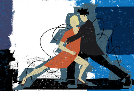 arts culture and entertainment: Tango Couple