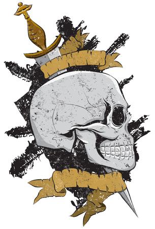 海賊スカル記章