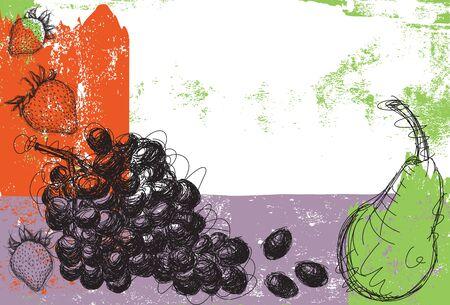 medley: Fruit Medley Illustration