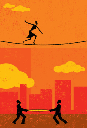 safety net: Walking a Tightrope