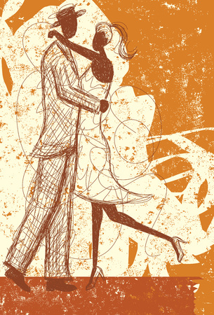 Abrazando boceto pareja Foto de archivo - 48432643