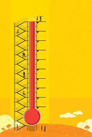 Thermometer Fundraiser Çizim