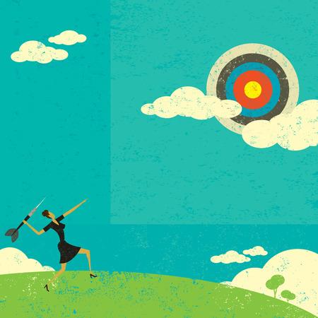 metas: Con el objetivo de un alto destino