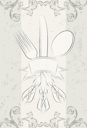 silverware: Silverware Illustration