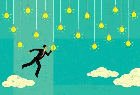 Choosing a Profitable Idea Illustration
