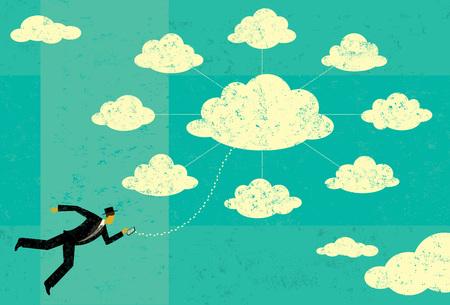 Cloud Computing 免版税图像 - 58740942