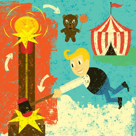 Carnival Game Winner Illustration