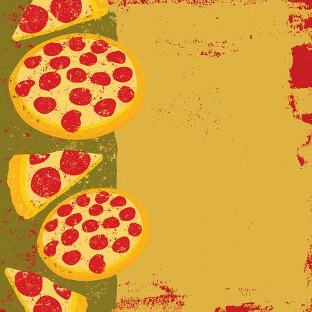 Tasty Pizza Background