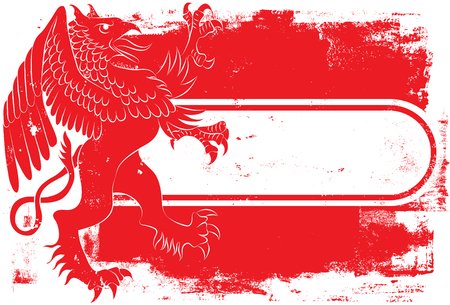 griffin: Red Griffin Tag