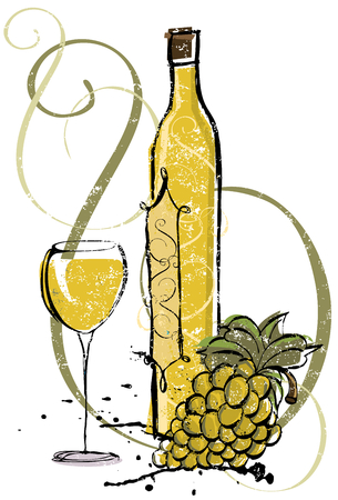 Chardonnay Vintage Select Illustration