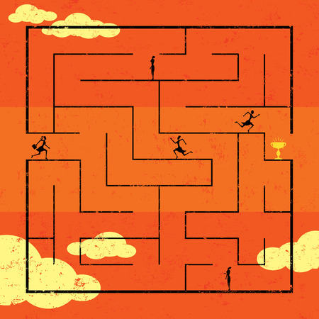conquering adversity: Navigating Maze to Success