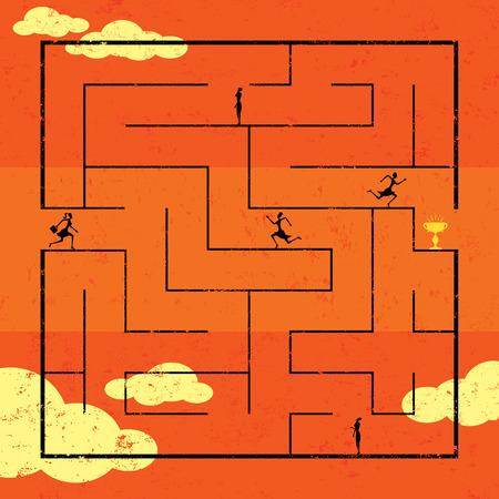 Navigating Maze to Success