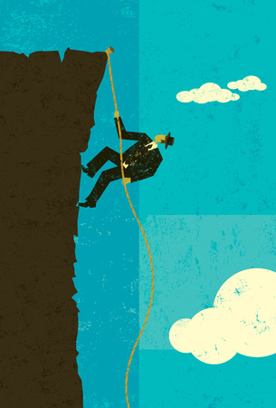 Climber Ilustrace