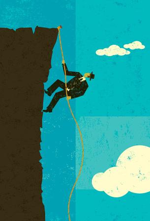 Climber Illustration