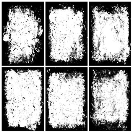 distressed: Distressed Frames Illustration