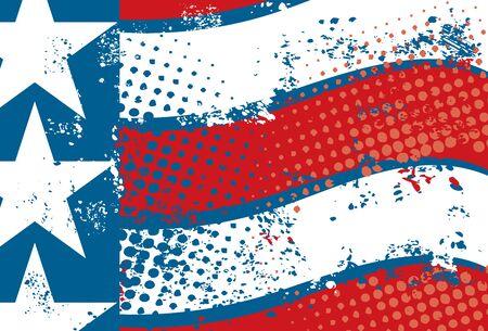 American Flag Ilustrace