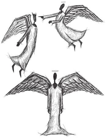 angel: Angel doodles