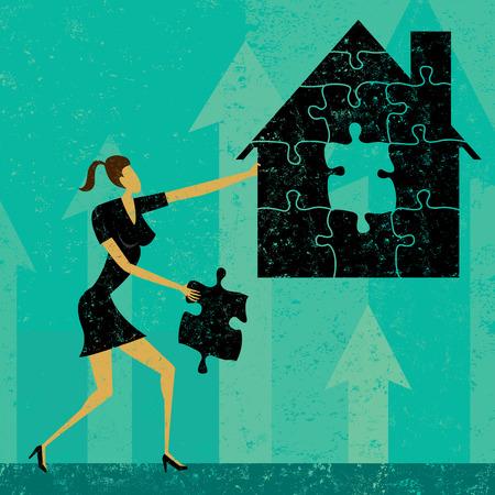 Solving Home Mortgage Problems Illustration
