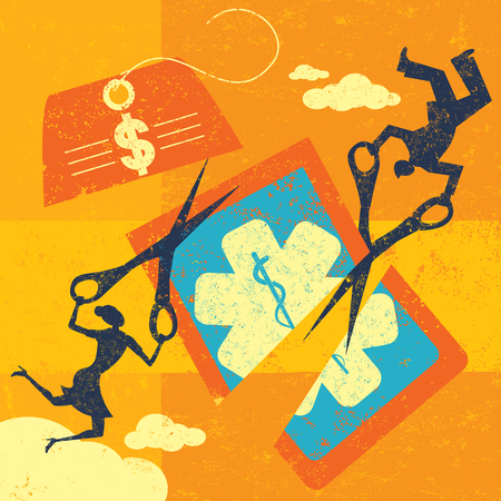 Cutting Health care Costs Ilustrace