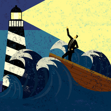 bailout: Guidance in Stormy Seas Illustration
