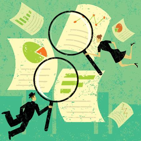 Examining Financial Documents