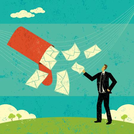 New Emails Ilustracja