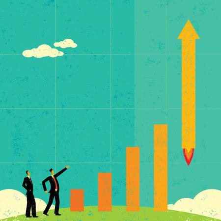 Profits Taking Off Ilustrace
