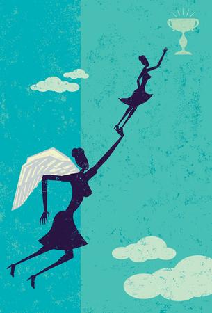 Angel Investor Ilustrace