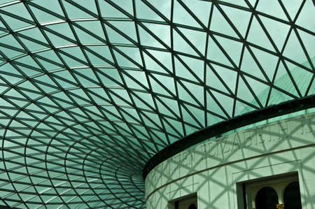 british museum: Roof of the British Museum Editorial