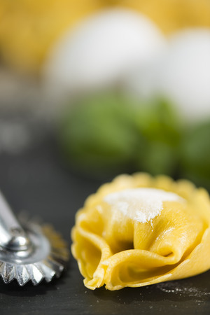 Stuffed italian tortellini from Emilia Romagna area