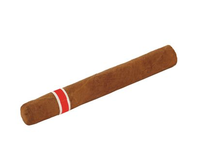 habana: Premium Habana cigar, isolated on white