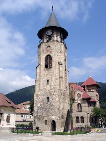 Historical Old Clock Tower.