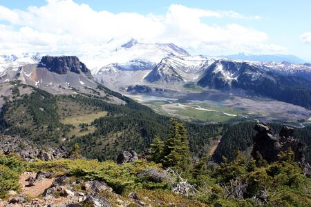 garibaldi: The Table And Mt. Garibaldi (Garibaldi Provincial Park, Coast Mountains, British Columbia, Canada)