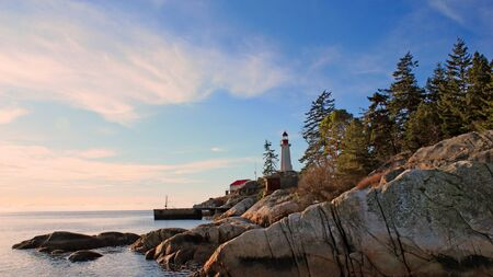 Point Atkinson Lighthouse In West Vancouver photo