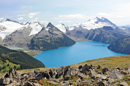 Beautiful Garibaldi Lake near Vancouver, British Columbia, Canada