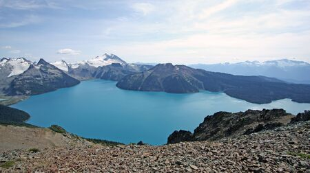 Garibaldi Lake near Squamish, British Columbia, Canada