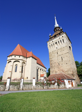 Saschiz fortified church in Transylvania