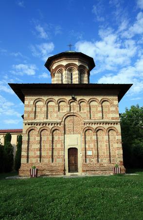 religious building: Cosuna Monastery 15th century: the oldest religious building in Craiova Area, Oltenia, Romania.