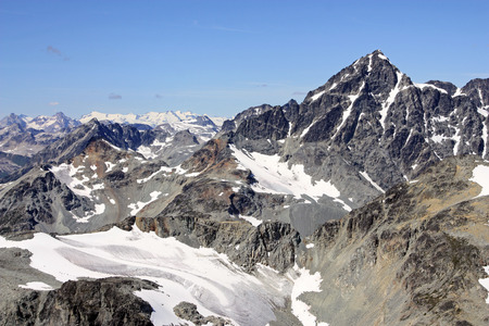 The dramatic rocky summit of Mount Sampson (Coast Mountains of British Columbia, Canada). Stock Photo