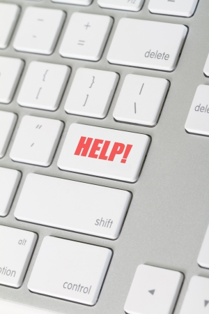 slant: keyboard button for online help