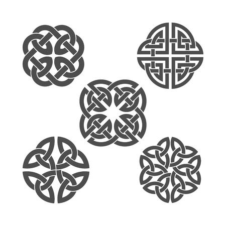 celtic: Vector celtic knot. Ethnic ornament. Illustration