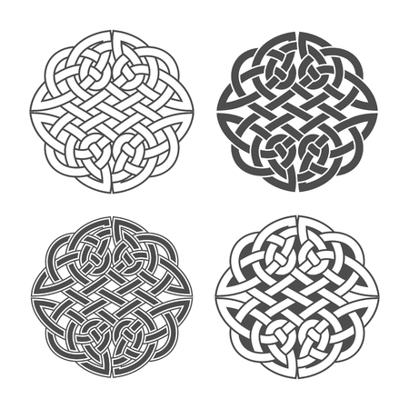 Vector celtic knot. Ethnic ornament. Geometric design