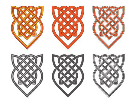 Vector Keltisch kruis. Etnisch ornament Geometrisch ontwerp T-shirt pr