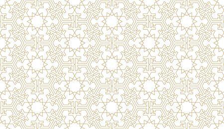 Seamless pattern background in authentic arabian style. Foto de archivo - 136982231