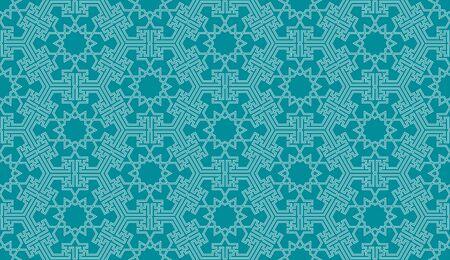 Seamless pattern background in authentic arabian style. Foto de archivo - 136982233