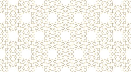 Seamless pattern background in authentic arabian style. Foto de archivo - 136982251